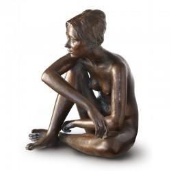 Statua in bronzo - Modella...