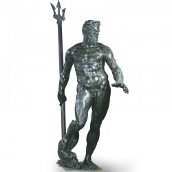 Statua in bronzo - Nettuno