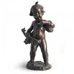 Statua in bronzo - Putto...