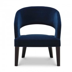 Lounge padded armchair - Ray