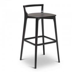 Beech wood stool - Metro