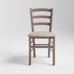 Sedia rustica in legno...