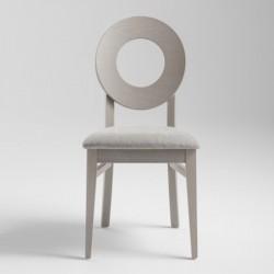 Sedia in legno con seduta...
