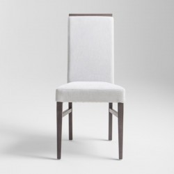 Lady new high back chair in fabric or synthetic leather