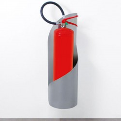 Grisù fire extinguisher support