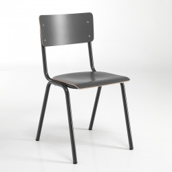 Stackable chair in multilayer - School