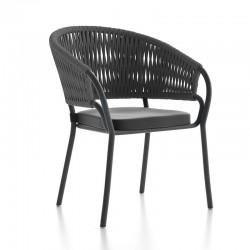 Garden chair in aluminium...