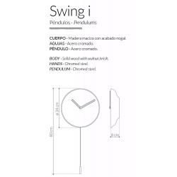 Orologio da parete Swing