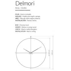 Wall Clock Delmori