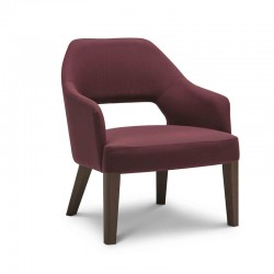 Lounge padded armchair - Emily