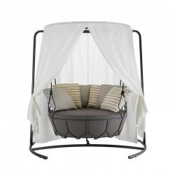 copy of Outdoor Swing Sofa in steel - Gravity