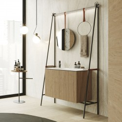 Bathroom composition with cabinet - Swing