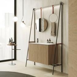 Composizione bagno con mobile ad altalena - Swing