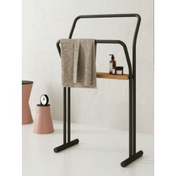 Towel holder with support - Gongolo
