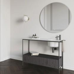 Bathroom composition with ceramic sink - Pilotì