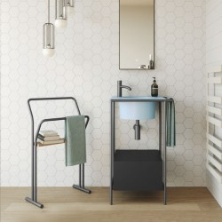 Bathroom composition with small sink cabinet - Pilotì 3