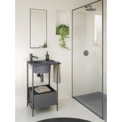Arredo Bagno con mobile lavabo quadrato - Pilotì 3
