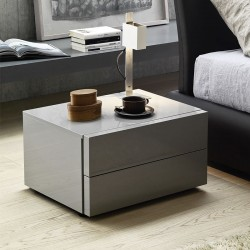Bedside table 2 drawers - Valeo