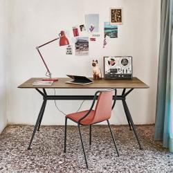 Tavolo / Scrivania con piano in legno - Brioso