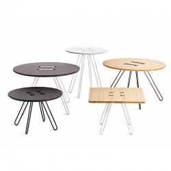 Tavolino tondo o quadrato - Twine