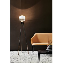 Floor lamp in metal - Ghost