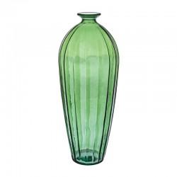 Vaso grande in vetro verde - Zuri
