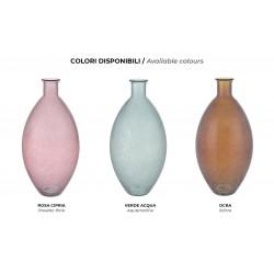 Vase in colour glass - Jade