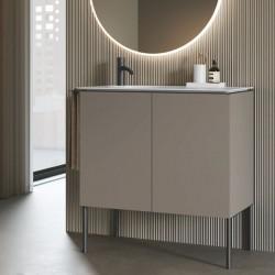 Mobile Bagno con lavabo in ceramica - Regolo