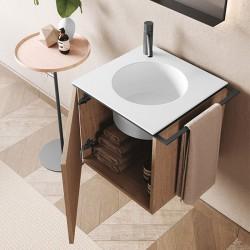 Bathroom cabinet suspended - Cubo