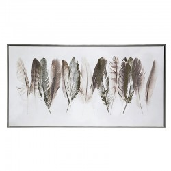 Oil painting with feathers - Fly