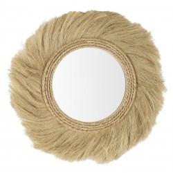 Round Mirror in Juta - Muzi