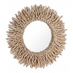 Specchio rotondo in Legno - Saray
