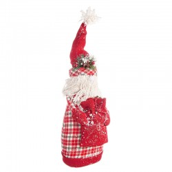 Santa Claus in plaid fabric - Alfred