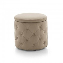 Storage pouf in leatherette - Pupo
