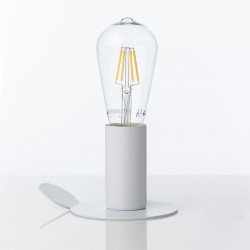 Table Lamp / Applique in metal - Quiet