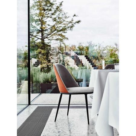 Sedia Imbottita Moderna - Lea | Design Arredo Moderno ...