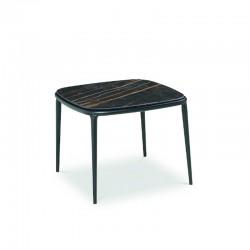 Tavolino da caffè con piano in legno/ceramica - Lea