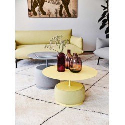 copy of Coffee table with wooden/ceramic top - Lea
