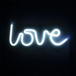 Luce Neon led con scritta Love - Amour