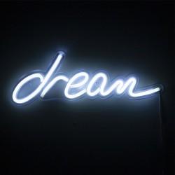 Luce Neon led con scritta Dream - Sogna