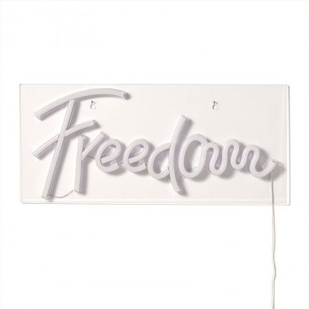 Neon led light Freedom writing - Libertà