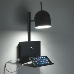 Lampada Abat Jour con presa USB per Smartphone - Perry