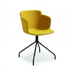 copy of Upholstered chair with armrests - Dalia