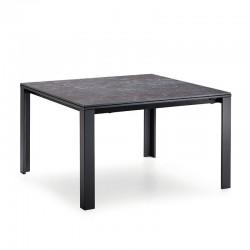 Tavolo con piano in vetro/ceramica - Marcopolo