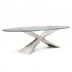 copy of Dining/meeting table with ceramic top - Concave