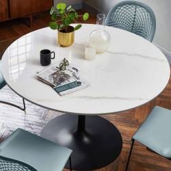 Tavolo tondo da pranzo - Infinity