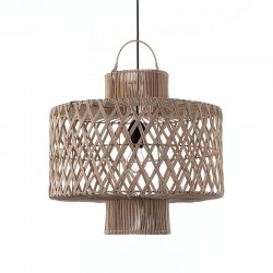 Pendant Lamp in rattan - Halo