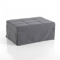 Pouf letto trasformabile in tessuto - Guest