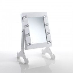 Table Mirror with storage compartment - Rimmel