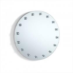 Specchio tondo con luci Led integrate - Vanity